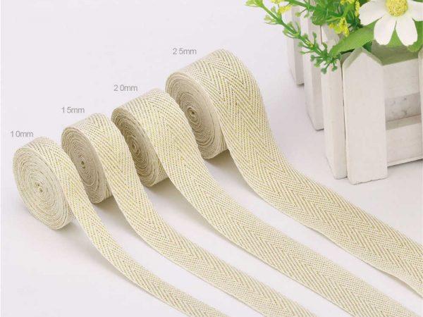 50-Yards-Roll-Beige-Cotton-Twill-Tape-Silver-Gold-Line-Ribbon-10mm-15mm-20mm-25mm-Herringbone.jpg_q50